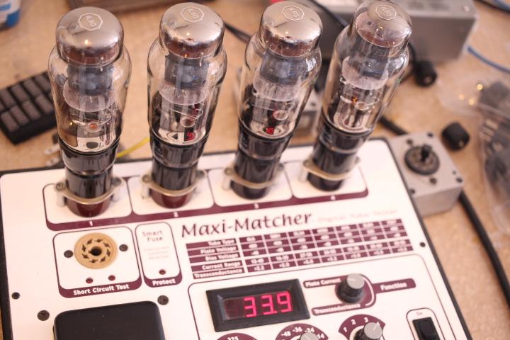 3本目のプレート電流の測定値